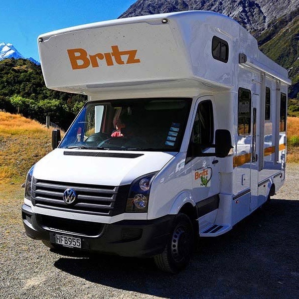 Britz Frontier Motorhome camper huren