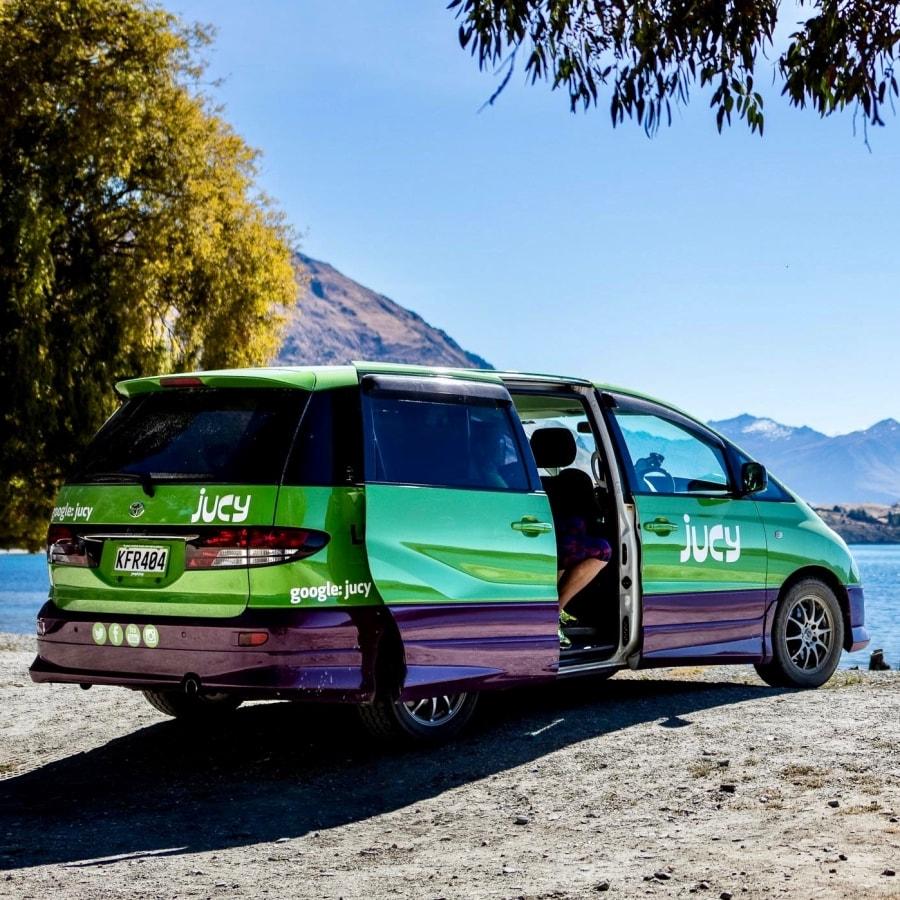 Jucy Cabana of Jucy Crib camper huren in Nieuw-Zeeland