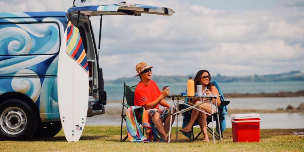 Escape Campervan huren in Nieuw-Zeeland