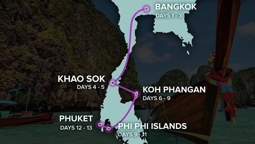 Thailand Experience Groepsreis