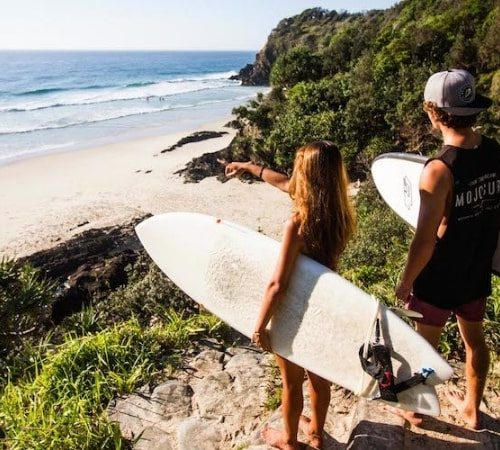 Surfen & Crossfit in Byron Bay
