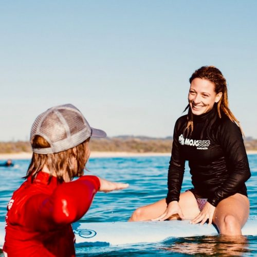 Krijg les van een Surfinstructeur
