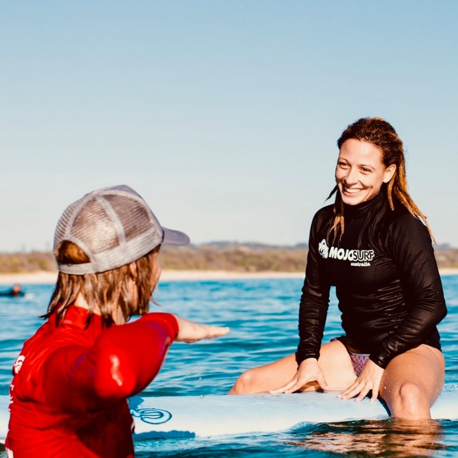 Krijg les van een Surf instructeur