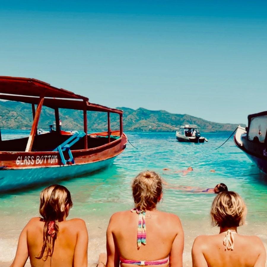 vriendinnen samen tijdens Bali Experience groepsreis