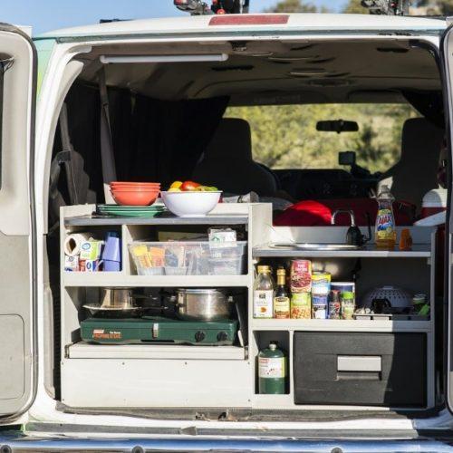 Escape Mavericks Campervan huren in Amerika