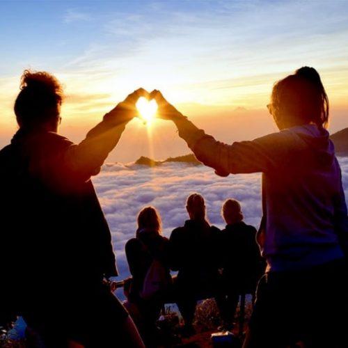 Aan de top van de vulkaan met de Bali Experience Groepsreis