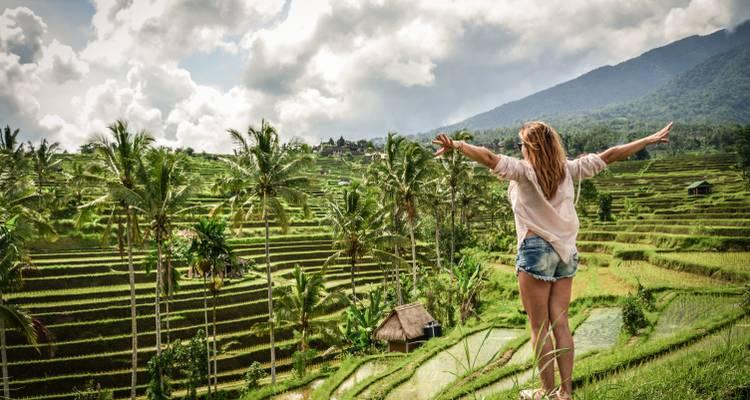 Met de Bali & Java Groepsreis in de rijstvelden