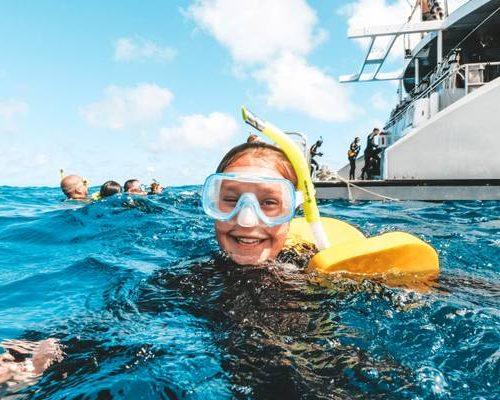 Snorkelen tijdens de Oostkust Classic Groepsreis in Australie