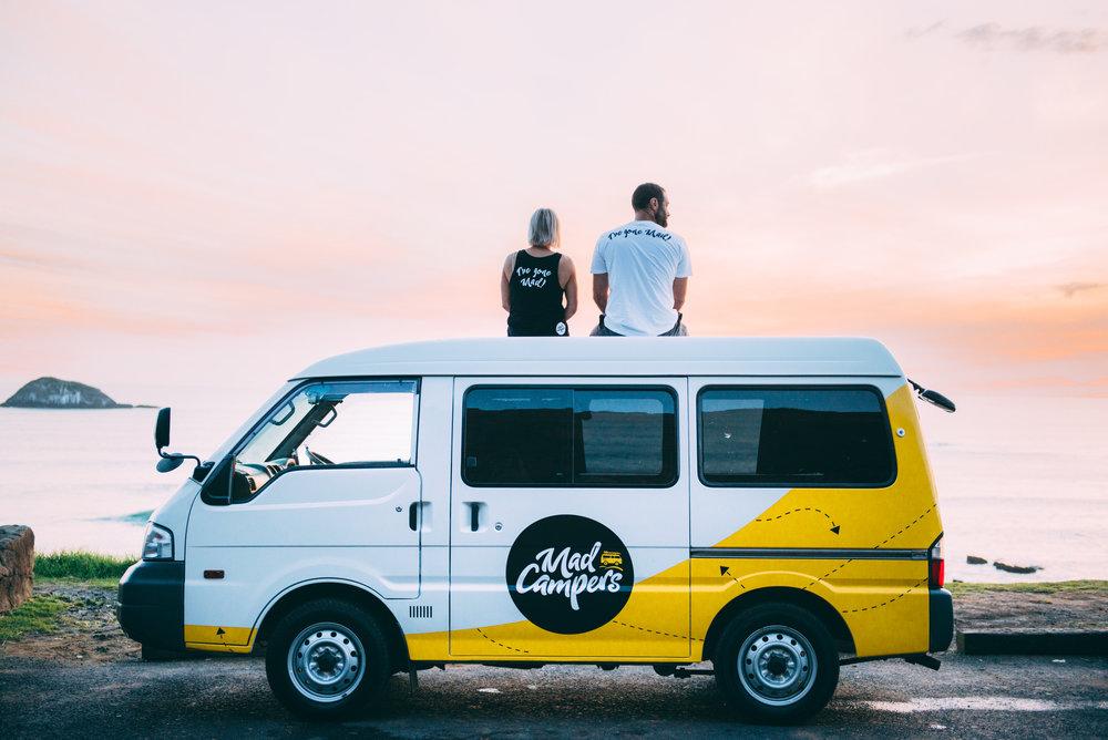 Camper huren of kopen in Nieuw-Zeeland