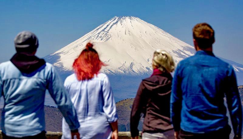Mount Fuji bewonderen tijdens de Japan Adventure Groepsreis