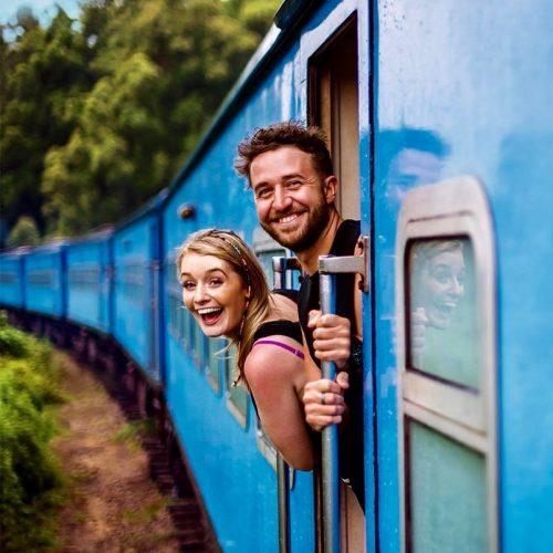 Trein naar Ella in Sri Lanka met de Sri Lanka Experience Groepsreis