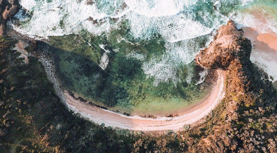 De oostkust van Australie kent prachtig ongekende stranden