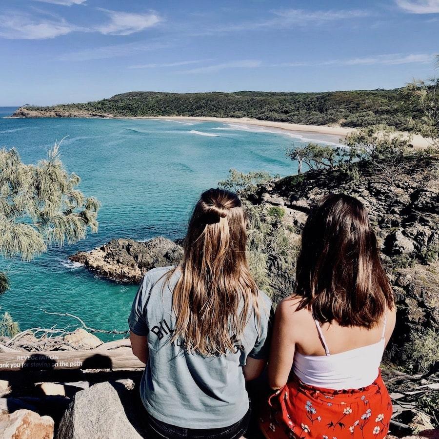 Australië biedt mooie stranden en prachtige uitkijkpunten, ga mee met de Oostkust Budget Groepsreis