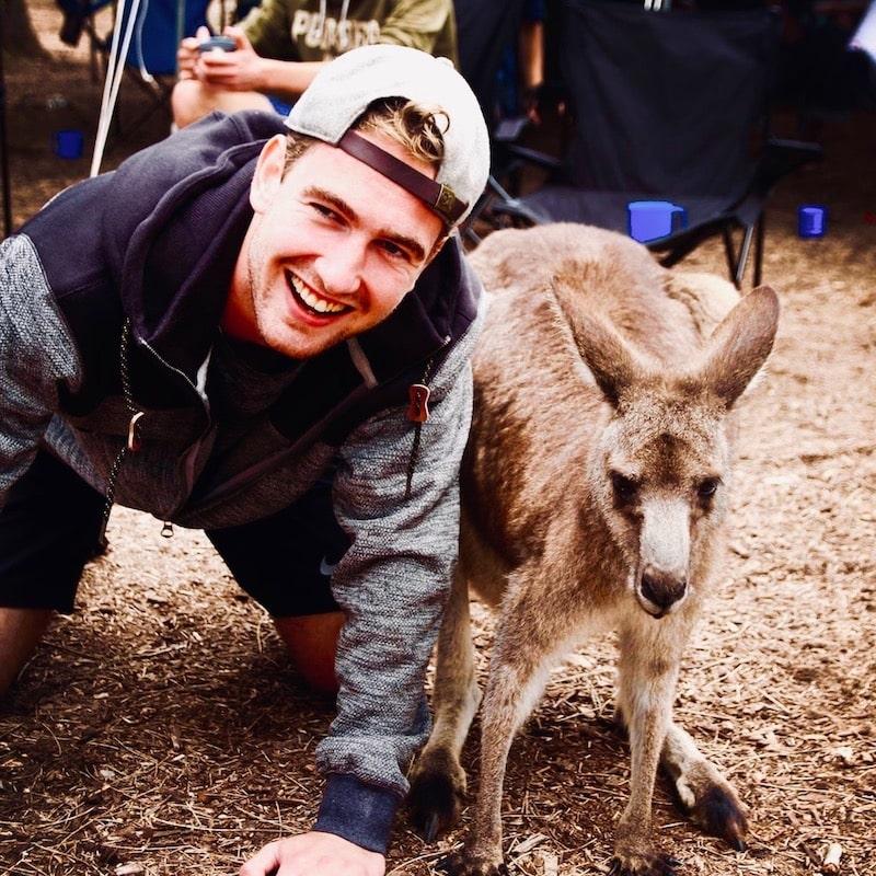 Reis langs de oostkust van Australie en kom een kangoeroe tegen