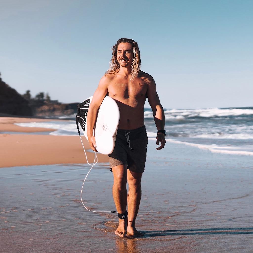 Reizen langs de oostkust en neem een surfles