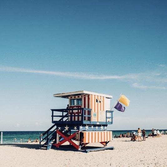 Relax op het strand van Miami met de American Dream Groepsreis