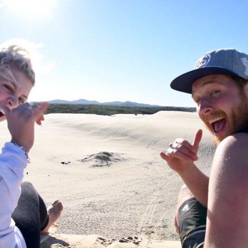 Ontdek de omgeving van Sydney en ga natuurlijk sandboarden