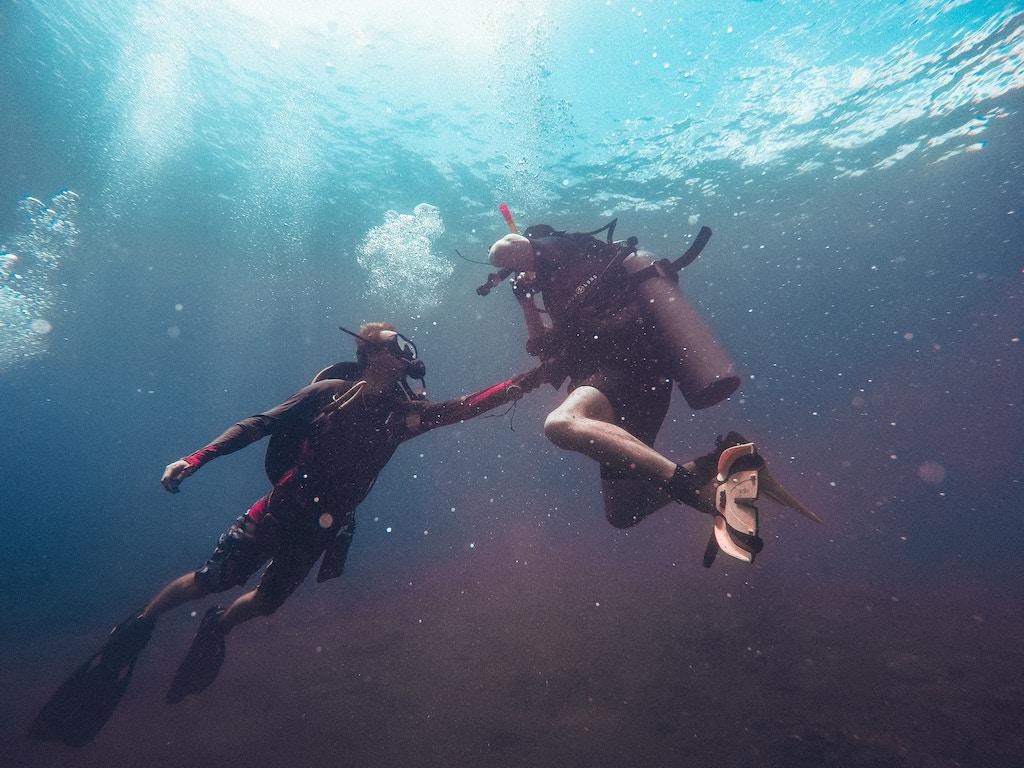 Ontdek de onderwater wereld van Bali