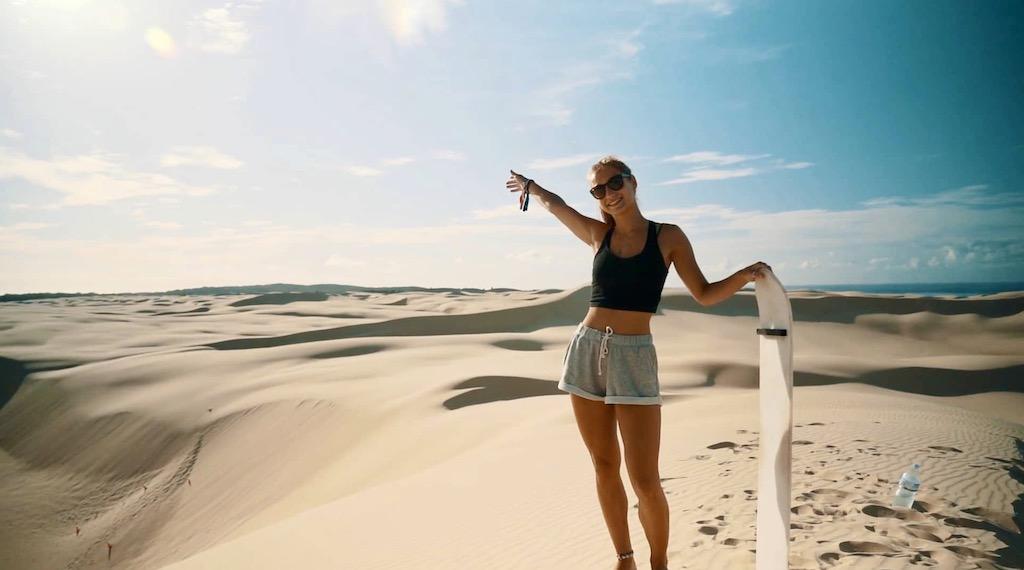 Sydney Plus Startpakket Sandboarden