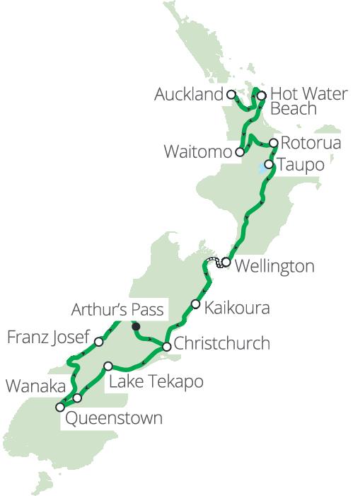 17 daagse Nieuw-Zeeland Ultimate Groepsreis