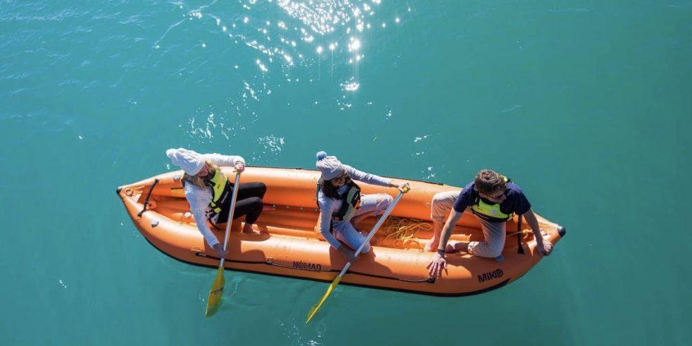 Kajakken tijdens de Nieuw-Zeeland Discovery Groepsreis