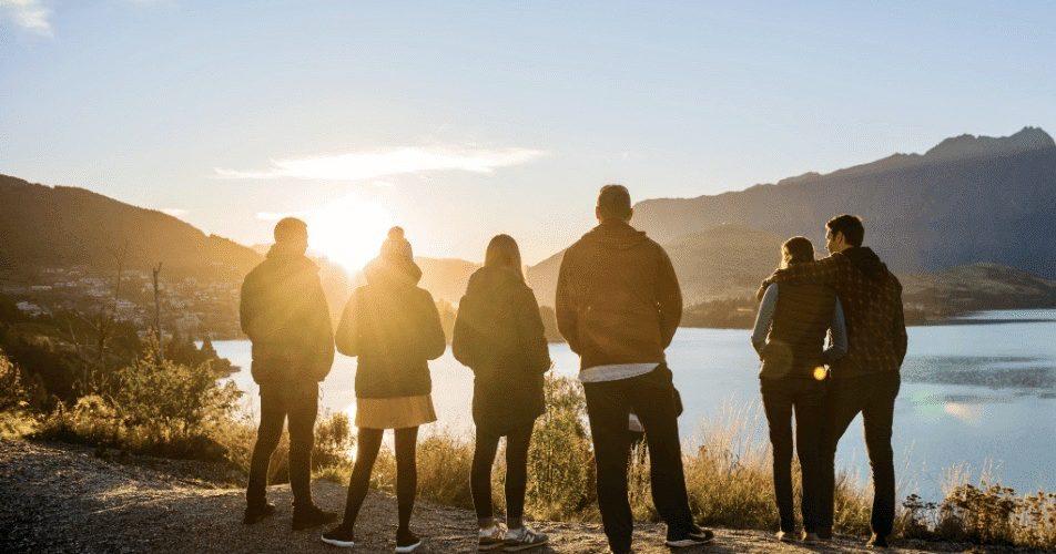 Met de Zuidereiland Premium Groepsreis genieten van de zonsondergang