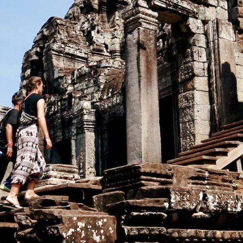 Ontdek tempels tijdens de Cambodja Explorer Groepsreis