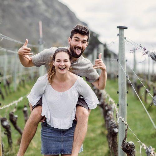 Wijnproeverij tijdens de Nieuw-Zeeland Ultimate Groepsreis