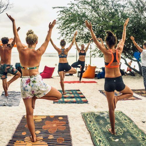 Yogalessen volgen tijdens je reis door Bali