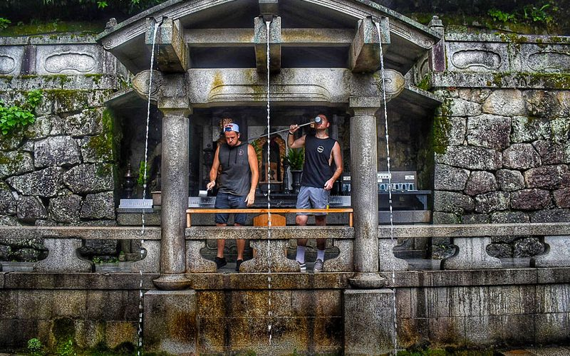 Japan water visit met de Japan Experience Groepsreis