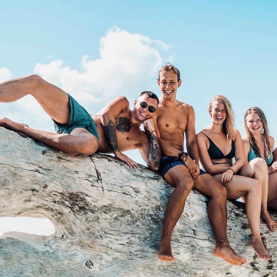 Relaxen op Whitehaven Beach met de Oostkust Budget Groepsreis