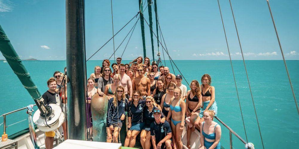 Varen door de Whitsundays met de Oostkust Experience en Oostkust Budget Groepsreis