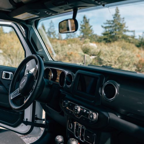 Jeep Camper van Escape