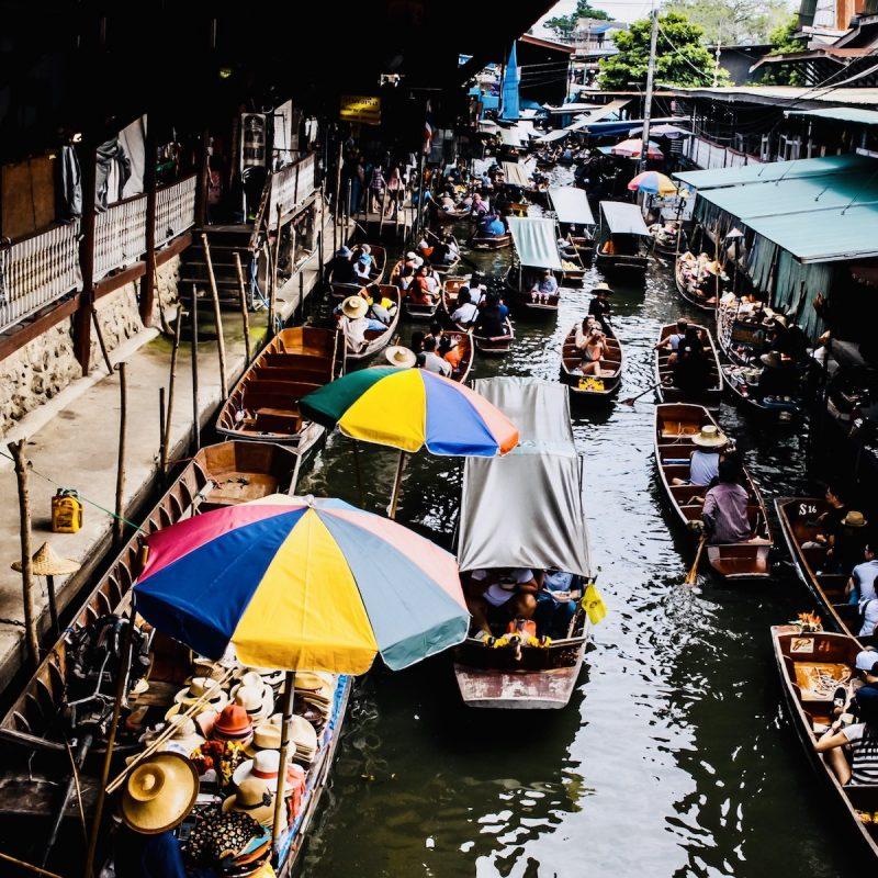 Floating Market Thailand - bezoek de leukste markten in Thailand