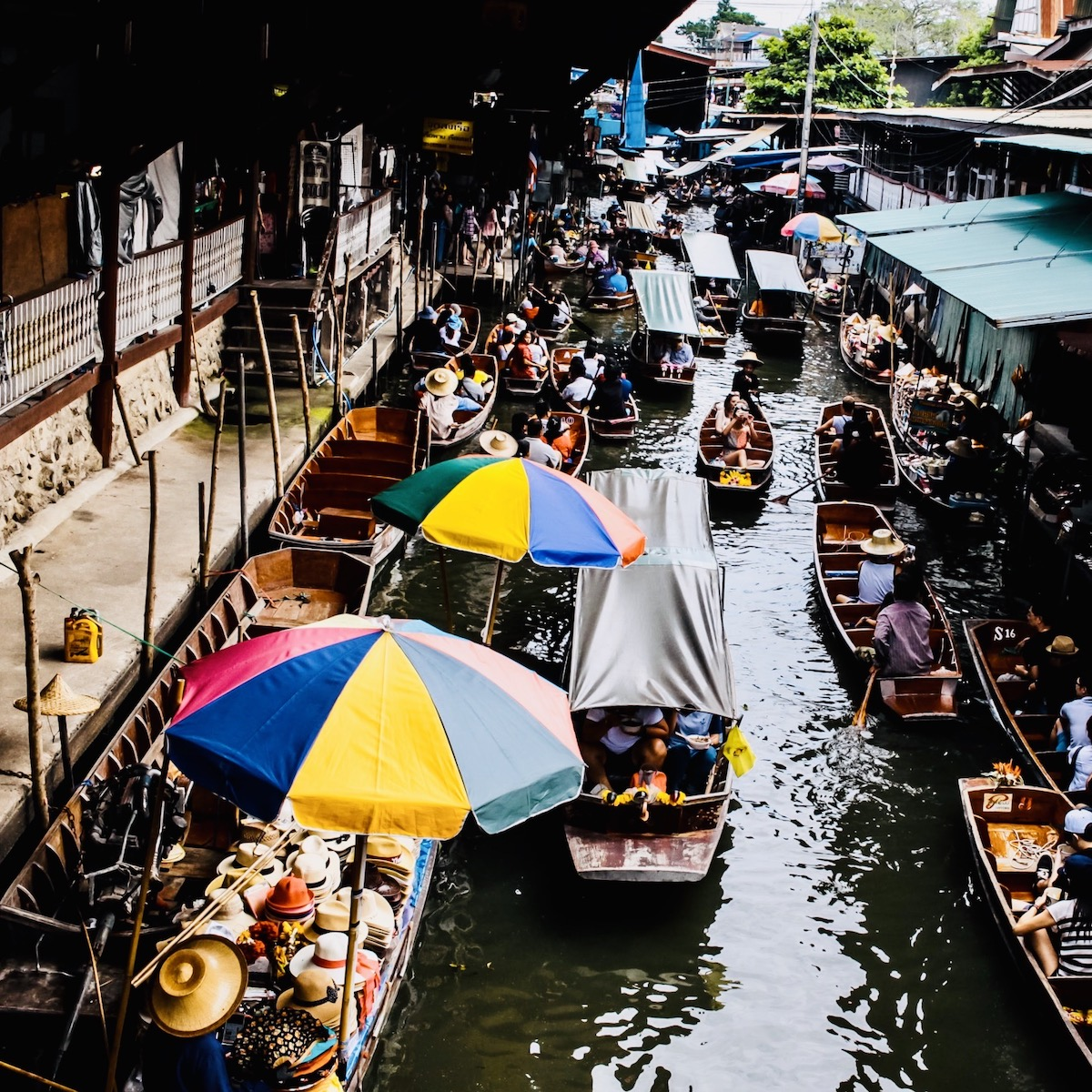 De 5 leukste markten om te bezoeken tijdens jouw reis door Thailand