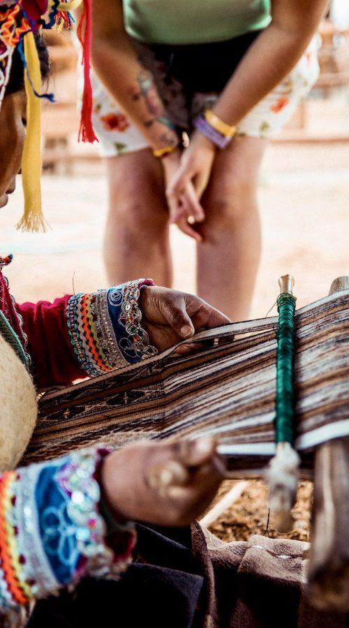 Handwerk in Lima met de Peru Inca Groepsreis