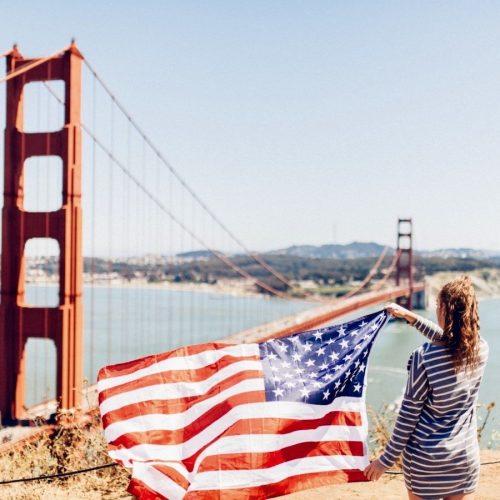 Wandel over de Golden Gate tijdens de American Dream Groepsreis