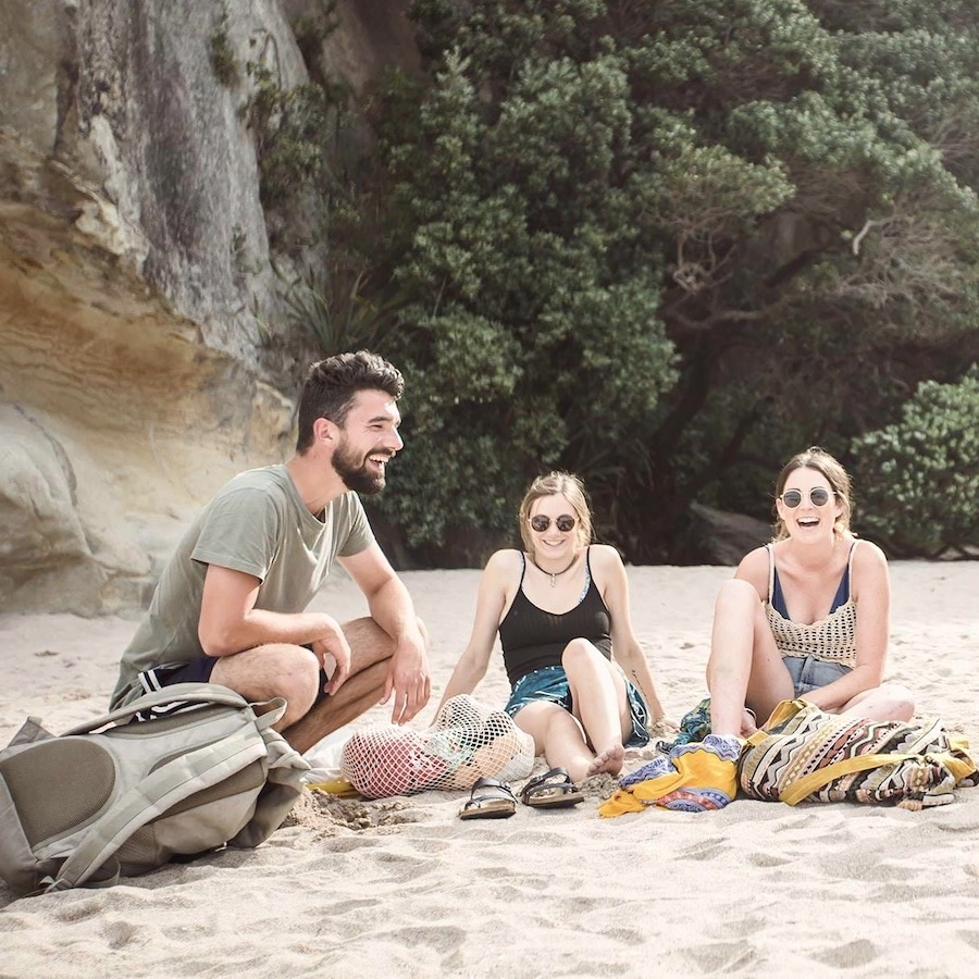Groep reizigers tijdens de Northern Cape Busreis