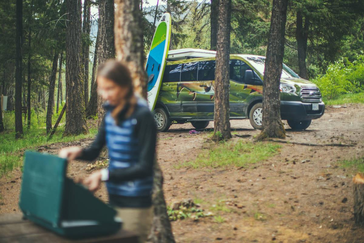 Kamperen met de Escape Big Sur Campervan
