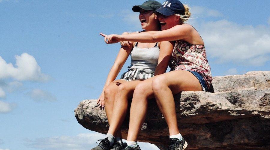 Geniet van de mooiste uitkijkpunten tijdens de Outback Adventure jongerenreis