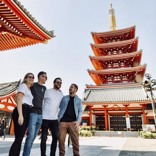 Groepsreizen voor jongeren met Japan Experience