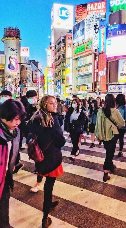 Grootste kruispunt van Tokyo
