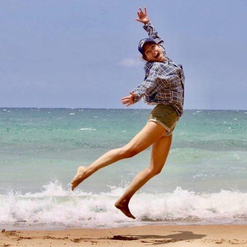 Je wordt vrolijk van de surflessen vlakbij Sydney