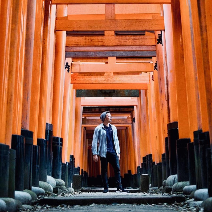 Jongeren groepsreis door Japan