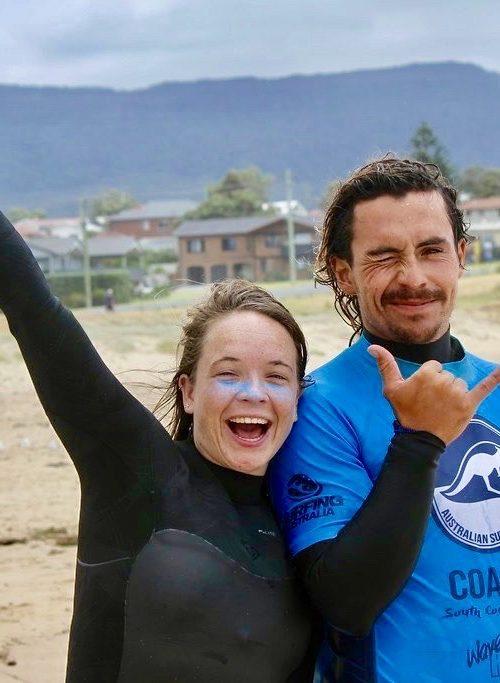 Krijg surfles van de beste surfinstructeur