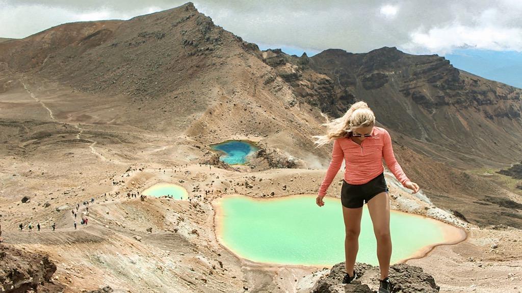 Ontdek het bijzondere landschap tijdens de tongariro crossing hike