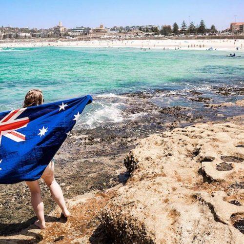 Ontdek het strand van Bondi in Sydney