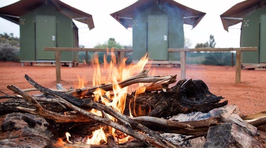 Overnachten in het wilde outback van Australie