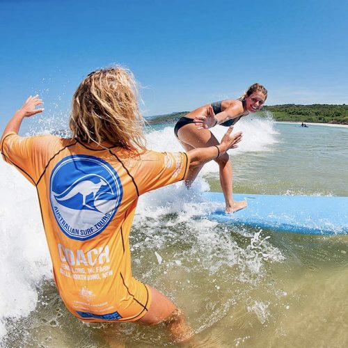 Surfcursus in Australie is te gek
