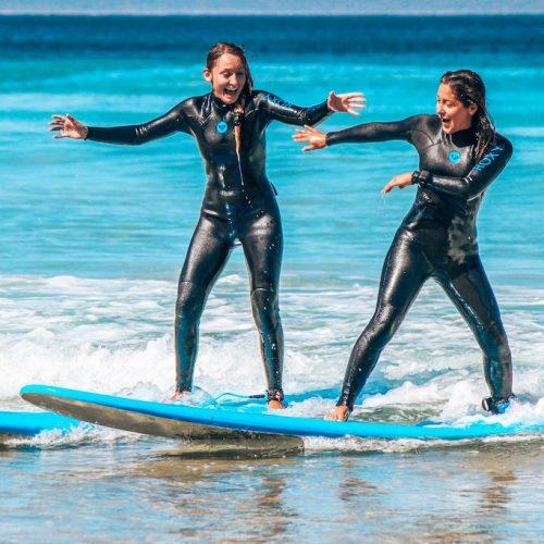 Sydney Work & Surf vriendinnen